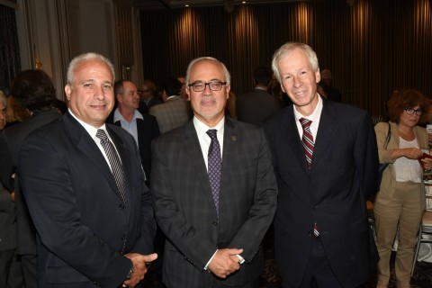 Carlos J. Leitão à la Chambre de commerce et d'industrie de Saint-Laurent – Mont-Royal