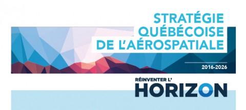 Stratégie québécoise de l'aérospatiale 2016-2026