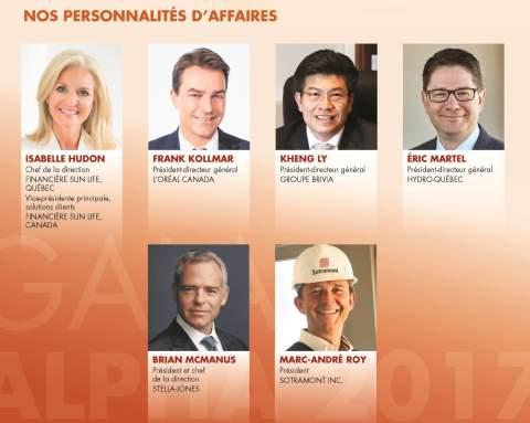 Gala Alpha/Personnalités d'affaires 2017