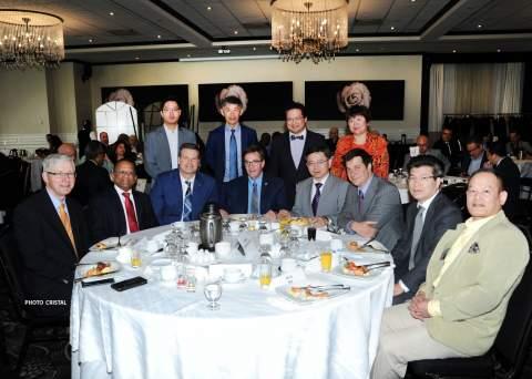 Communiqué petit-déjeuner conférence avec le Consul de Chine