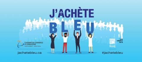 Communiqué : Compagne j'achète bleu