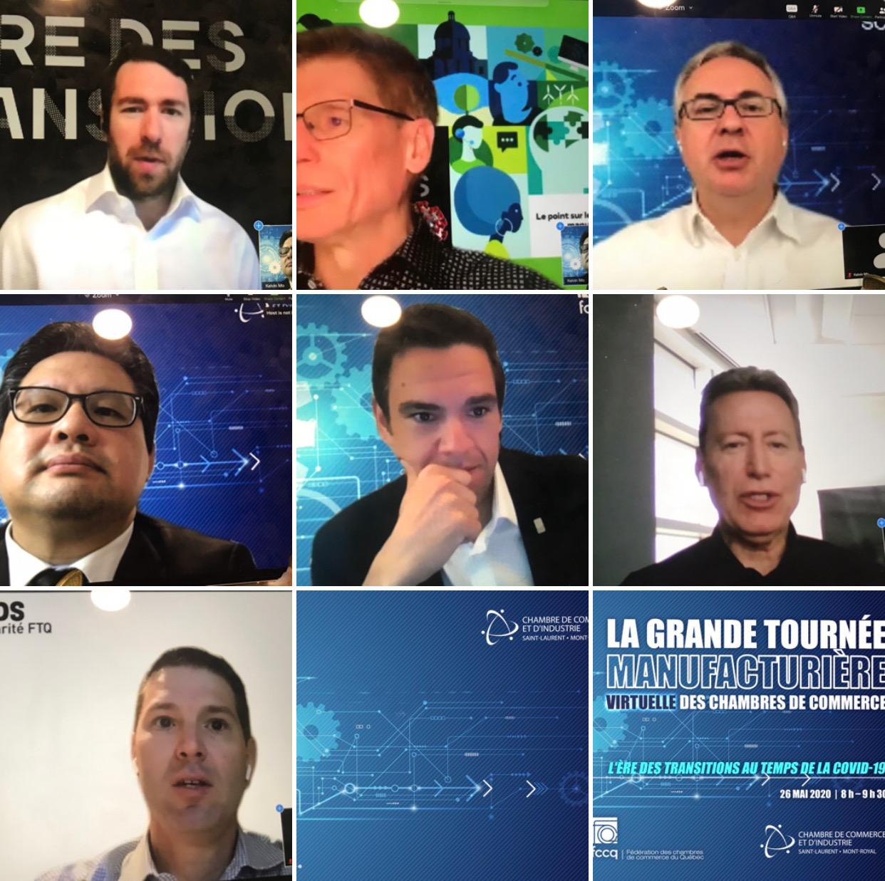 Communiqué : La grande tournée manufacturière virtuelle